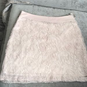 Champagne colored skirt